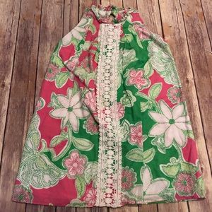 Lilly Pulitzer embroidered dress